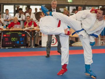 Ilija Letic von der Shinsei Kan Karateschule aus Lenzburg wird Vize-Schweizermeister 2015