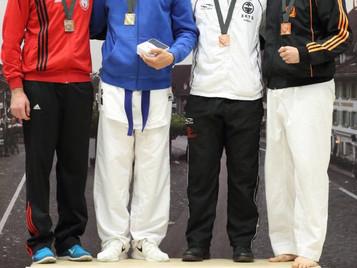Ilija Letic von der Shinsei Kan Karateschule gewinnt Bronze an den Schweizermeisterschaften