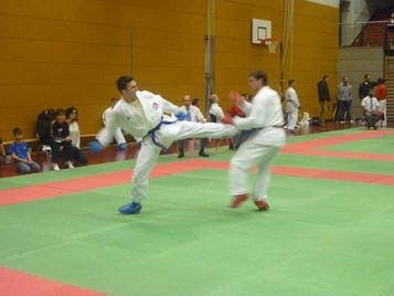 Erfolgreicher Beginn in die neue Turniersaison für Ilija Letic von der Shinsei Kan Karateschule