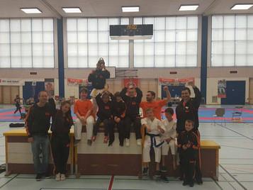 Schüler der Shinsei Kan Karateschule erfolgreich an der Junior Karate League