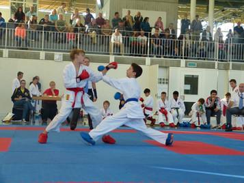 Spiel und Spass am Tomokai Nachwuchsturnier der Shinsei Kan Karateschule aus Lenzburg