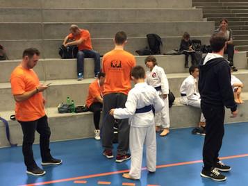 Karatekas der Shinsei Kan Karateschule mit starker Vorstellung an den Aargauer Meisterschaften