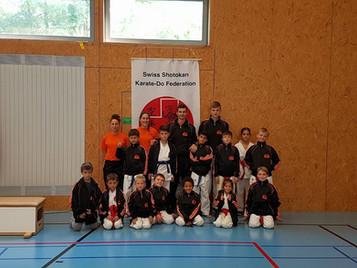 Erfolgreiche Shinsei Kan Karateschule an den Aargauer Meisterschaften