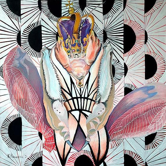 'Queen' large artwork