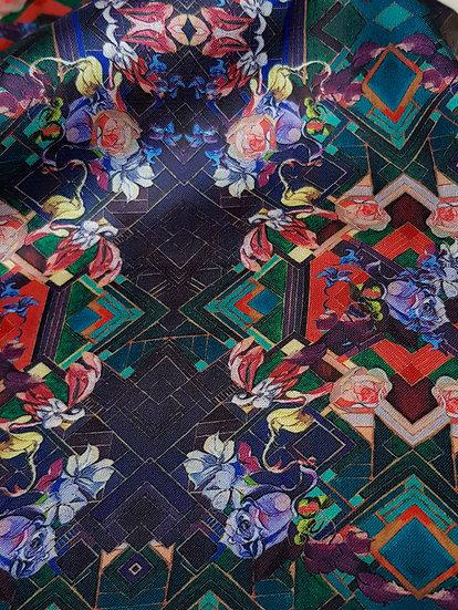 Artisan Fabric  Sample -Gatsby's Garden 3