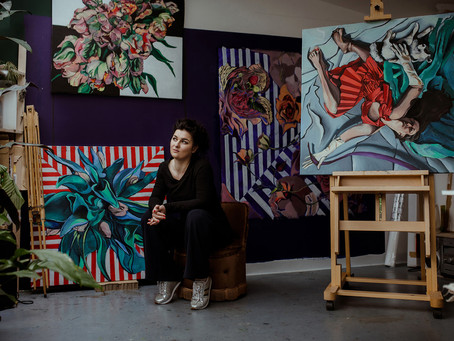 Becoming a Scottish artist - destiny or choice?