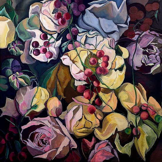'Escape' original oil painting