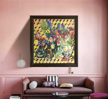 How to choose art for your home  - Add a sense of luxury with bold art.