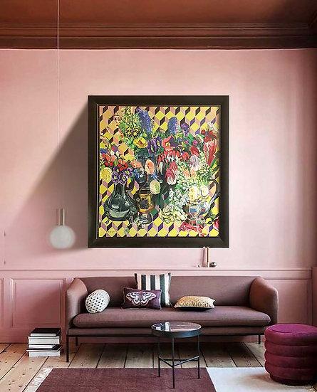'Gloroius Summer' original oil painting