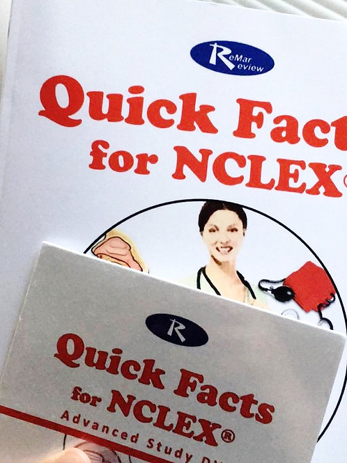 Quick Facts for NCLEX + Advanced Study DVD