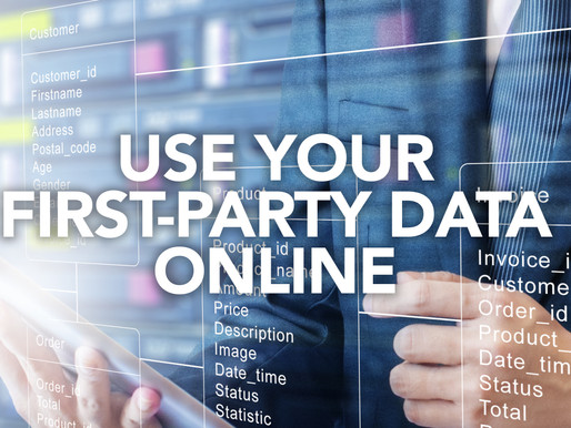 Use your first-party data to your advantage