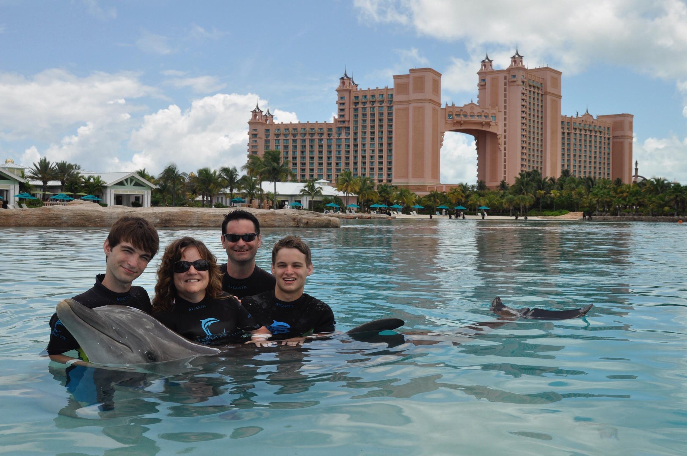 Family at Atlantis - 2011