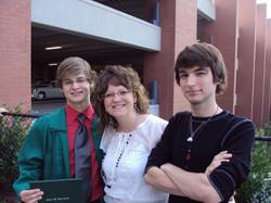 The Boys at Lance's Graduation