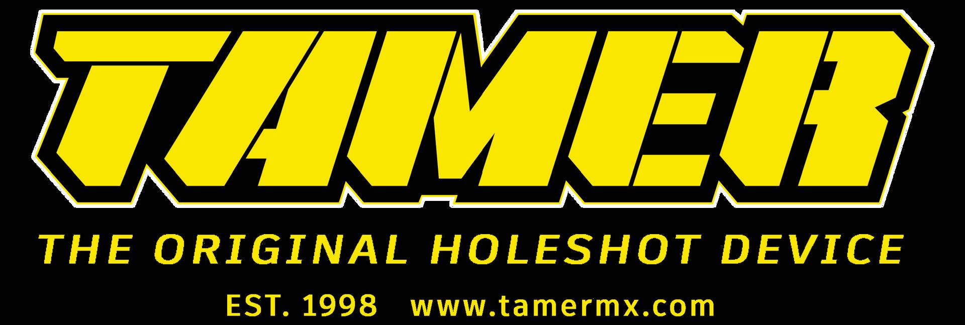 Tamer Logo Complete Yellow Light Backgro
