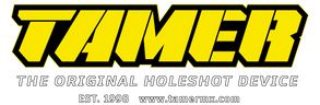 Tamer Logo Complete Yellow Dark Backgrou