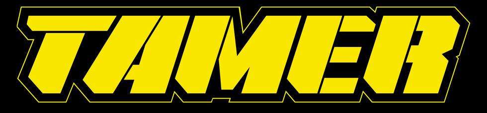 Tamer Yellow Word Only Dark Background.p