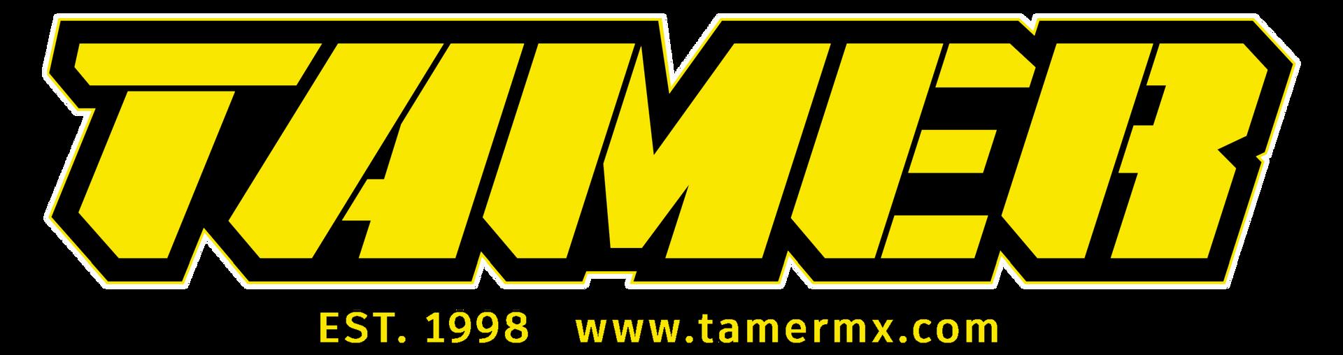 Tamer Web Logo Yellow Dark-Light Backgro