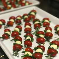 Rosemary Caprese Salad Skewers