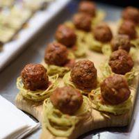 Spaghetti Nest Balls