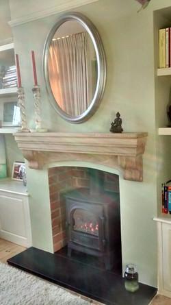 premium fireplace surround