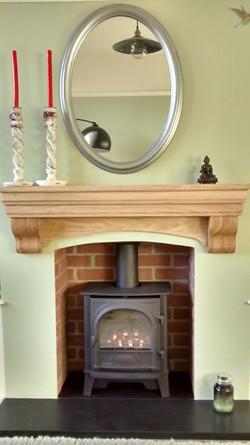premium fireplace shelf