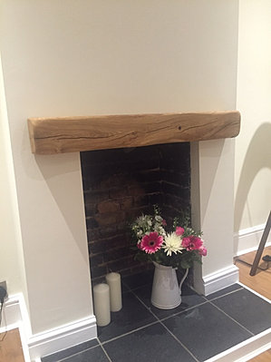 Solid Oak Floating Shelves, Mantels, Fireplace surround and more ...