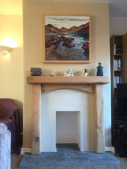 arched fireplace surround