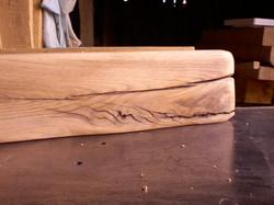 Rustic  Floating mantel piece
