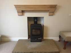Prime fireplace shelf