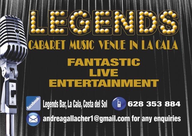 Legends Show Bar - La Cala