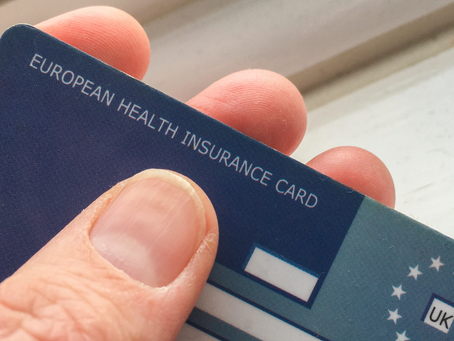Don't Forget Your European Health Insurance Card When Traveling This Summer - It's a Must!