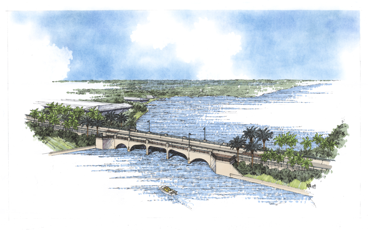Tequesta Bridge Rendering