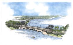 Tequesta Bridge Rendering