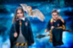 Um dia como Harry Potter