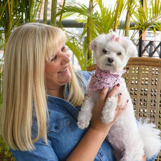 ensaio fotografico lifestyle na residencia com cachorro