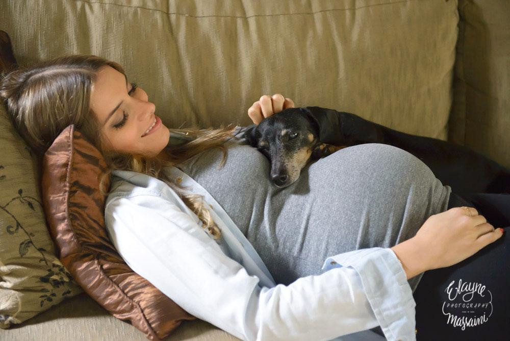 Mamãe e cachorro