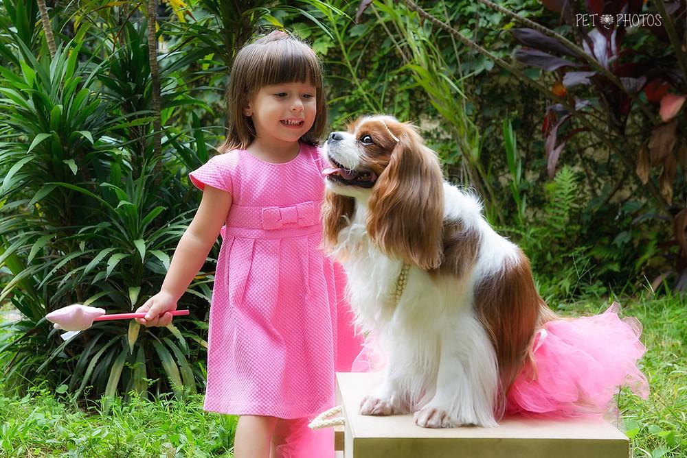 book pets e crianças
