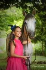 menina e cavalo