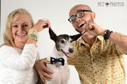 Ensaio Pet em Família