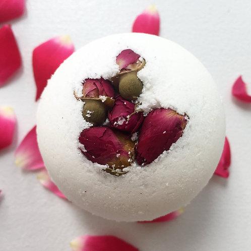 Rose Flower Bath Bomb