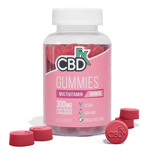 CBDfx - CBD Edible - Women's Multivitamin Gummies - 5mg