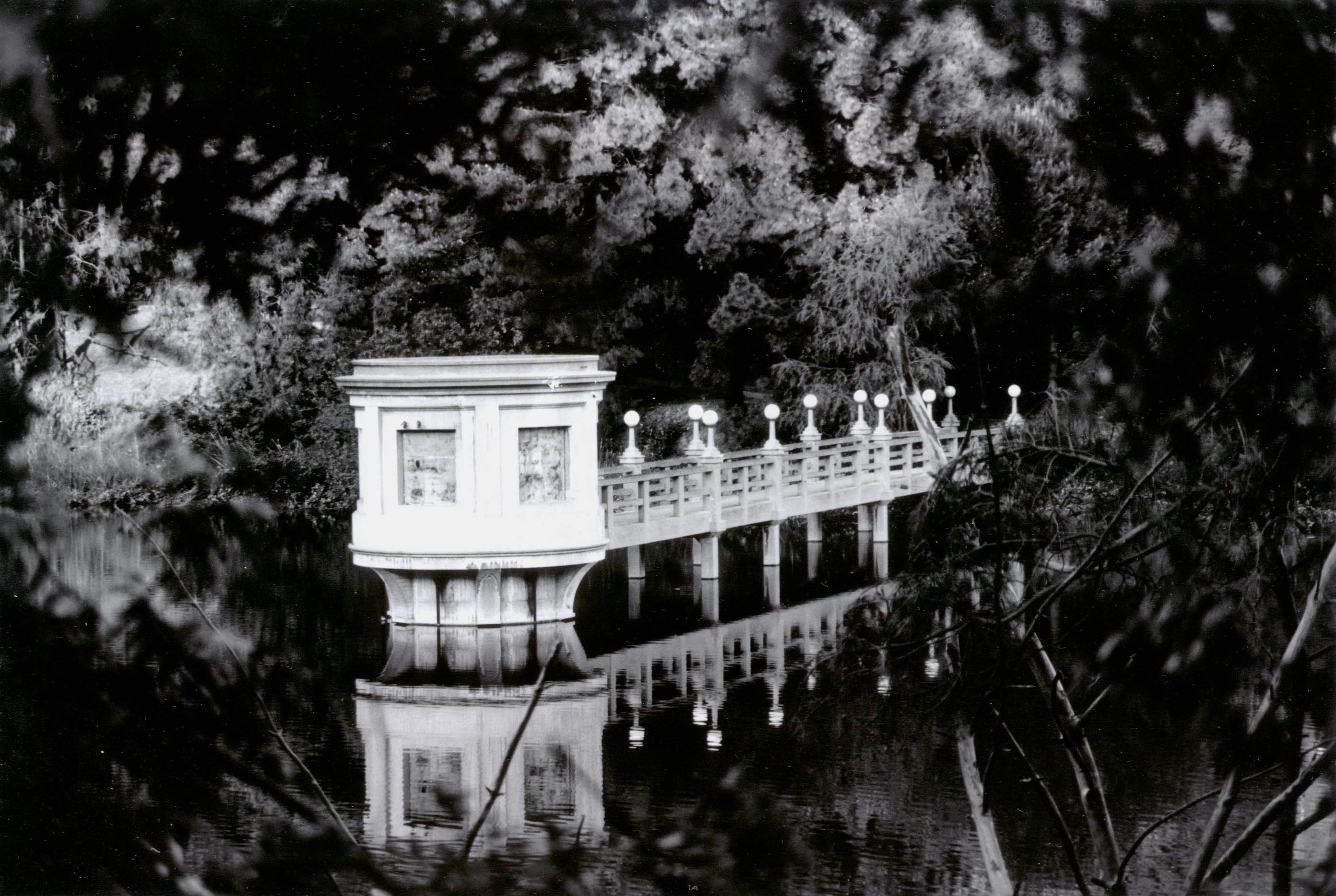 Mirrored bridge