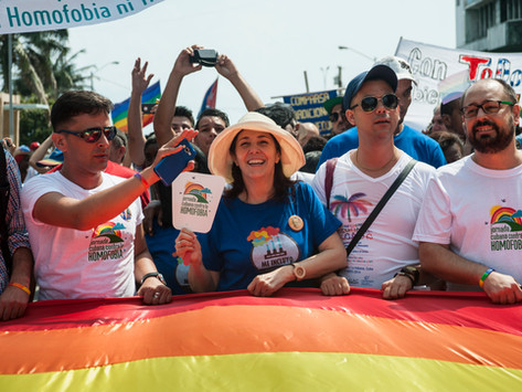 "INTERNATIONAL DAY AGAINST HOMOPHOBIA & TRANSPHOBIA (""La Jornada"") - My favorite time of the year!"