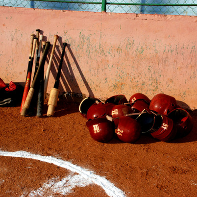 Team La Habana's bats and helmets (Featu