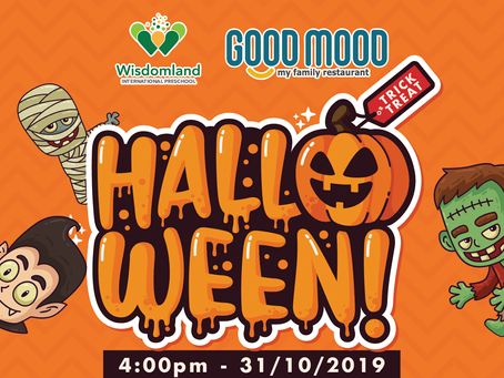 HALLOWEEN AT GOOD MOOD RESTAURANT