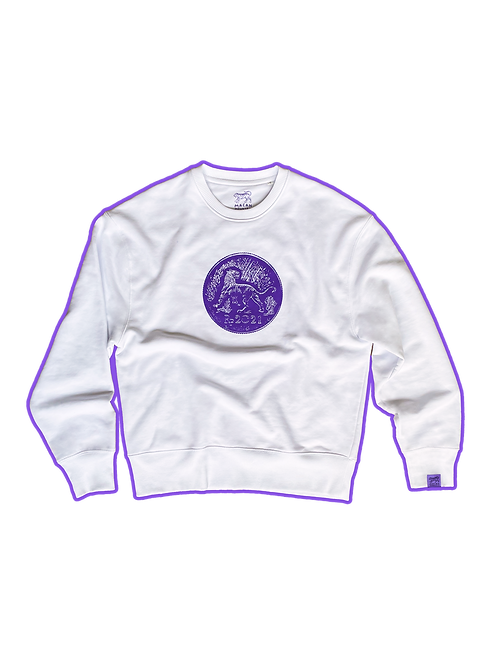 COIN SWEATER (WHITE)