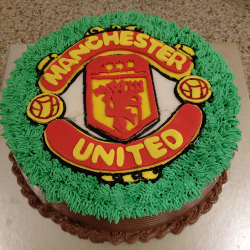 Manchester United Cake Cake Shop Ruislip Bakers Mark