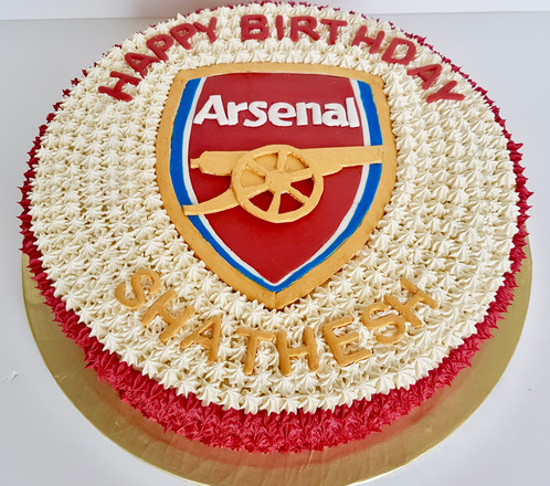 Arsenal Cake Cake Shop Ruislip Bakers Mark