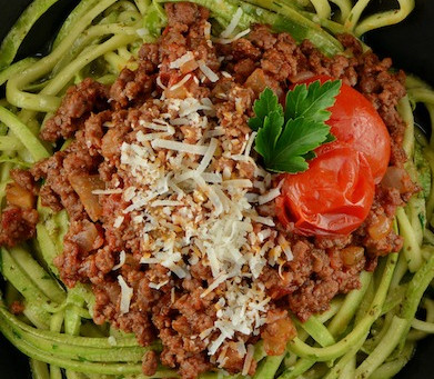 Foodtopia - Bolognese Zoodles