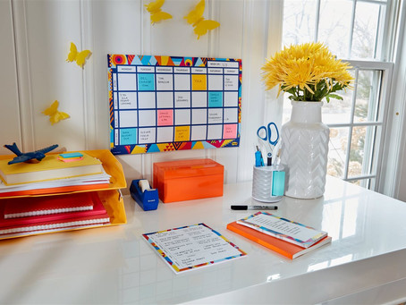 7 simple tips to stay organized for back-to-school 2020